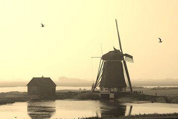 Molen op Texel van Marloes Sinnema