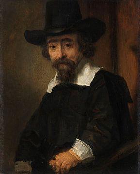 Portrait of Dr Ephraïm Bueno, Rembrandt van Rijn sur
