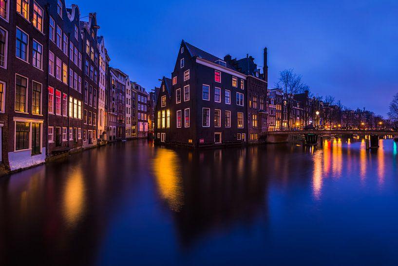 Amsterdamse grachten van Ronne Vinkx