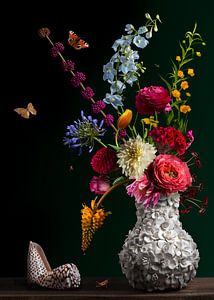 Stilllebenblumen Balthasar van der Ast