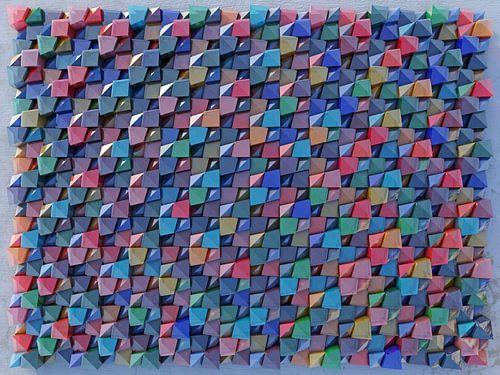 Relief 2016 K2 Gekleurd Glas van