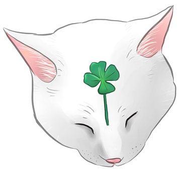 Lucky cat sur Wies de Ruiter