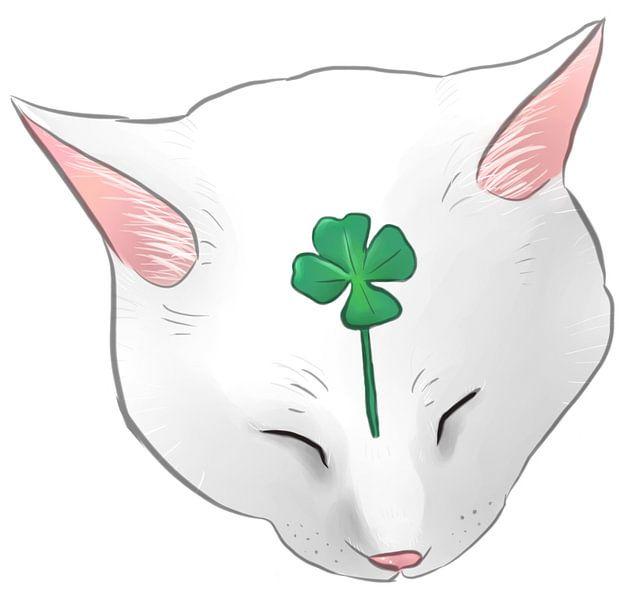 Lucky cat van Wies de Ruiter