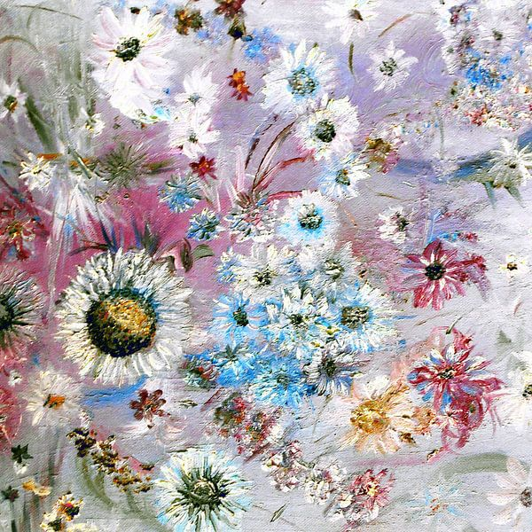 Flowers, daisy, Mum, Posy, Pansy, Pretty van Rhonda Clapprood