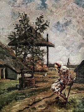 Waiting for departure van Ruben van Gogh