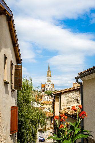 Frans doorkijkje naarkerktoren
