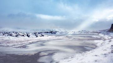 Landschap IJsland van Gonda van Wijk