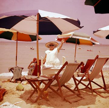Igea Marina Rimini jaren '50 van Timeview Vintage Images