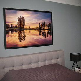 Photo de nos clients: Zonsondergang bij Poelmeer sur Marja Spiering