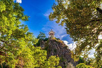 """Tempel van de Sibylle in het """"Parc des Buttes Chaumont"""" van Dennis Carette"""
