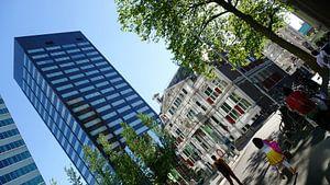 Oud en nieuw architectuur in Rotterdam