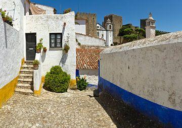 Obidos, Portugal van Rene van der Meer