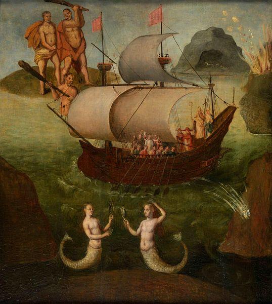 Allegorie des Staates, Frans Francken der Jüngere von Meesterlijcke Meesters