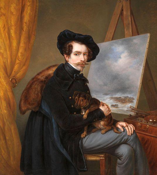 Selbstporträt, Louis Meijer von Meesterlijcke Meesters