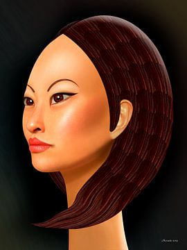 Cheveux spéciaux sur Ton van Hummel (Alias HUVANTO)