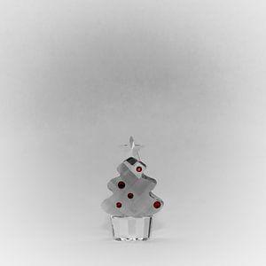 Kerstboom glas
