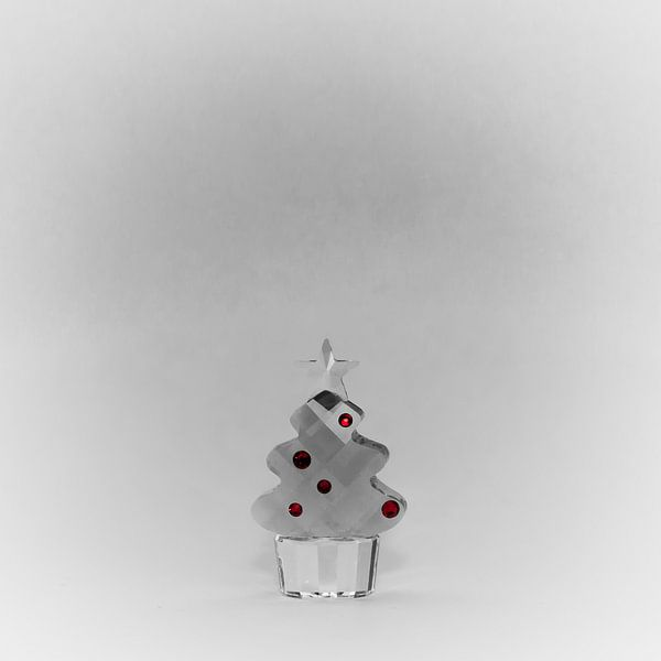 Kerstboom glas van arjan doornbos