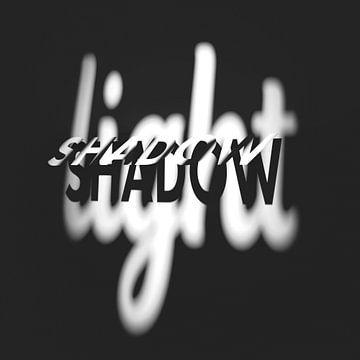 Licht und Schatten 1 grau von Jörg Hausmann