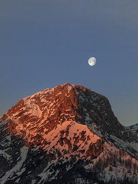 Wenn der Mond untergeht von Thomas Weber