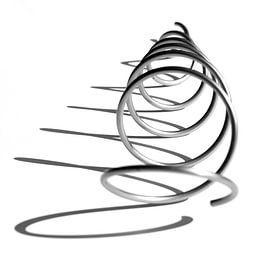 Spirale avec ombre sur Adelheid Smitt