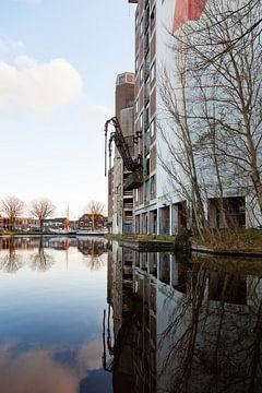 oude meelfabriek in Leiden von Bernadet Gribnau
