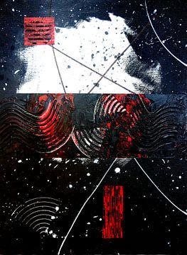Abstraktes Chaos von Yvonne Smits