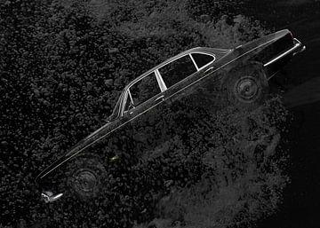 Jaguar XJ Serie 1 in black deep water von aRi F. Huber