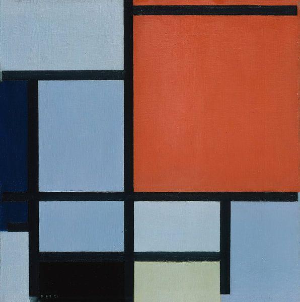 Komposition (1921), Piet Mondrian von Meesterlijcke Meesters