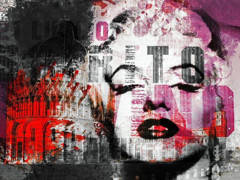 Marilyn goes to Pisa van Gabi Hampe