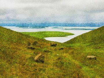 Blick auf der Mücken-Se, Island von Frans Blok