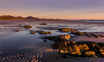 Coucher de soleil des Hébrides extérieures, Écosse sur Adelheid Smitt