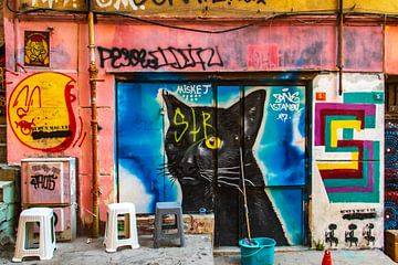 Graffiti in Istanbul von Oguz Özdemir