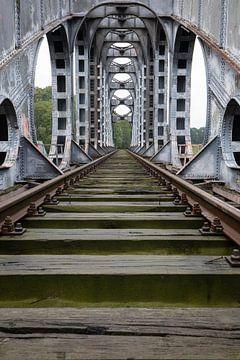 Die verlassene Brücke von Ben van Sambeek