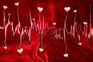 Herzfrequenz der Liebe