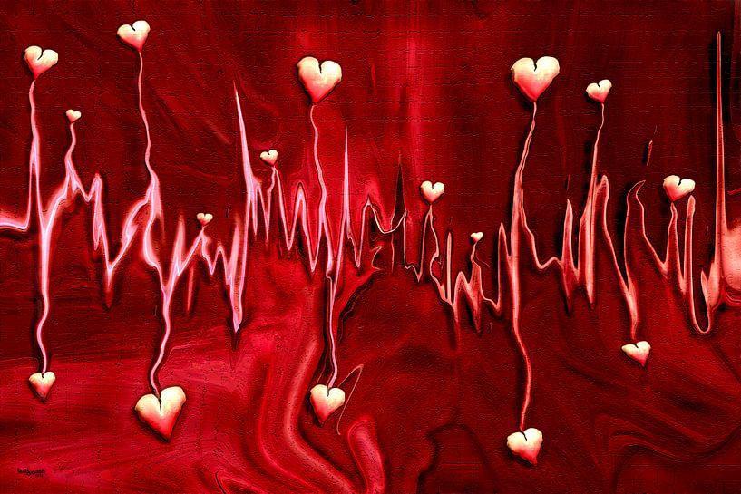 Herzfrequenz der Liebe von Stefan teddynash