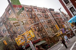 New York straat van Raymond Samson
