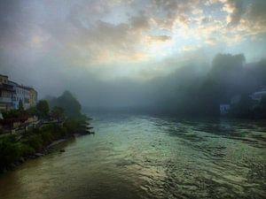 Morgen am  Fluss I von Ilona Picha-Höberth