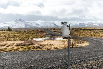 Brievenbus op IJsland sur Marco Schep