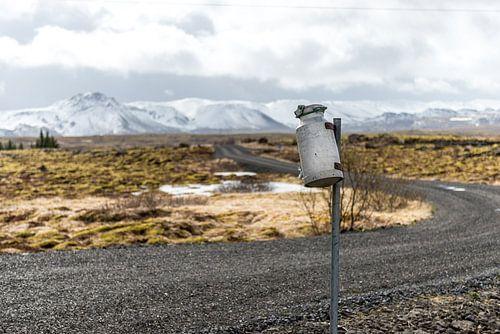 Brievenbus op IJsland van