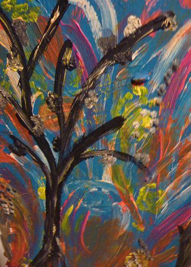 Happy Tree van Jose Beumers