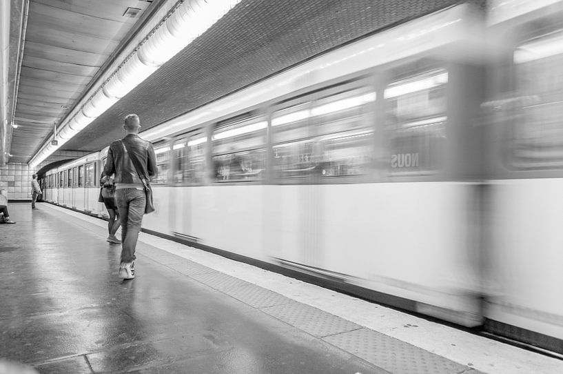 Metrostijl van Maurice B Kloots      www.Fototrends.nl