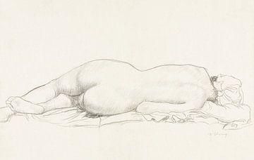 Liegender Akt, William Strang von Atelier Liesjes