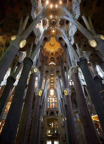 Sagrada Famillia van binnen