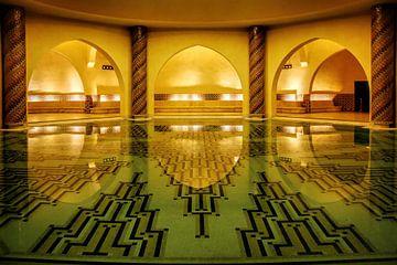 Interieur Hassan II Moskee van