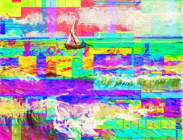 Meerblick Zanolino und Van Gogh von Giovani Zanolino