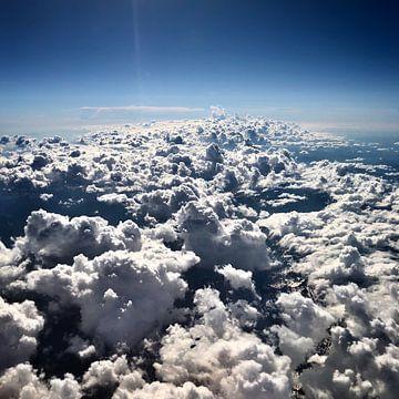 Wolken boven de Pyreneeën von SPOOR Spoor