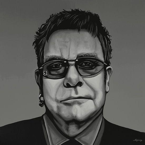 Elton John Schilderij