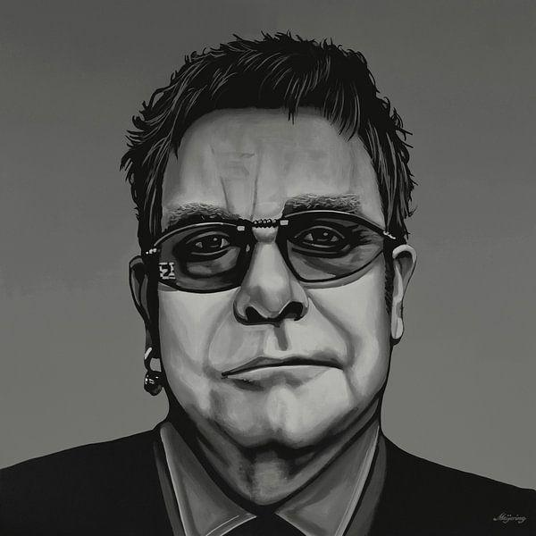 Elton John Schilderij van Paul Meijering