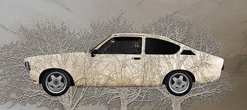 Opel C Cadett C Art Car 3 Bomen van aRi F. Huber