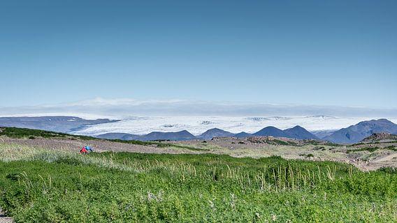 Glacier360: mountainbikes in IJsland